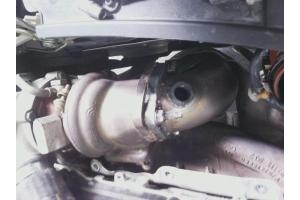 PEUGEOT 207 exhaust